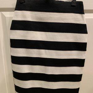 NWT Express Striped Skirt